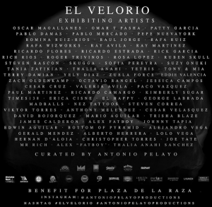 El Velorio Flyer